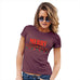 Novelty Gifts For Women Merry Chrismukkah Women's T-Shirt Medium Burgundy