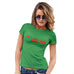 Womens Funny Tshirts Kiss Me Mistletoe Women's T-Shirt Large Green