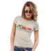 Funny Shirts For Women Kiss Me Mistletoe Women's T-Shirt Small Natural