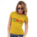 Funny Tshirts For Women Kiss Me Mistletoe Women's T-Shirt X-Large Yellow