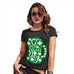 Funny Tshirts For Women St Patrick's Day Tankard Women's T-Shirt Large Black