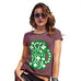 Funny T Shirts For Women St Patrick's Day Tankard Women's T-Shirt X-Large Burgundy