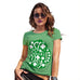 Funny T Shirts For Mum St Patrick's Day Tankard Women's T-Shirt Small Green