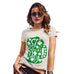 Funny Shirts For Women St Patrick's Day Tankard Women's T-Shirt Medium Natural