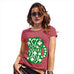 Funny T Shirts For Mum St Patrick's Day Tankard Women's T-Shirt Large Red