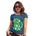 Funny T Shirts For Women St Patrick's Day Tankard Women's T-Shirt X-Large Royal Blue