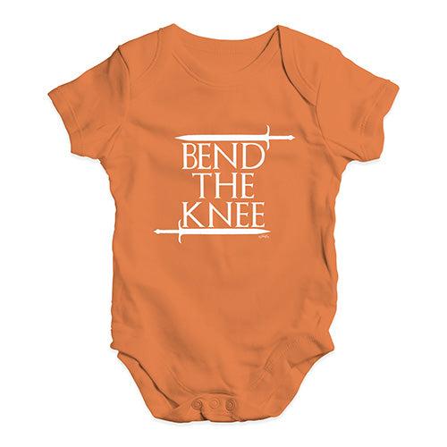 Bend The Knee Game Of Thrones Baby Unisex Baby Grow Bodysuit
