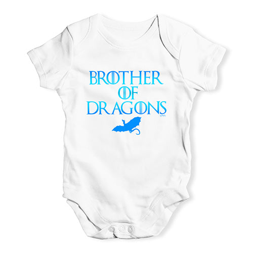 Brother Of Dragons Game Of Thrones Baby Unisex Baby Grow Bodysuit