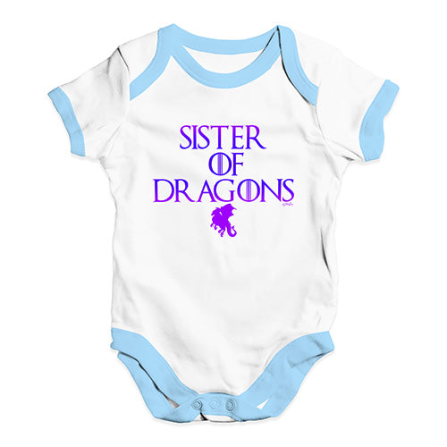 Sister Of Dragons Game Of Thrones Baby Unisex Baby Grow Bodysuit