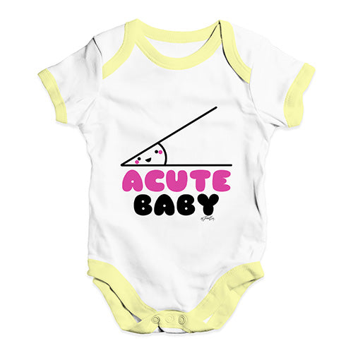 TWISTED ENVY Funny Infant Baby Bodysuit Im Surrounded by Idiots