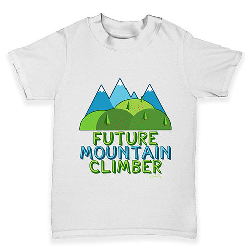 Future Mountain Climber Baby Toddler T-Shirt