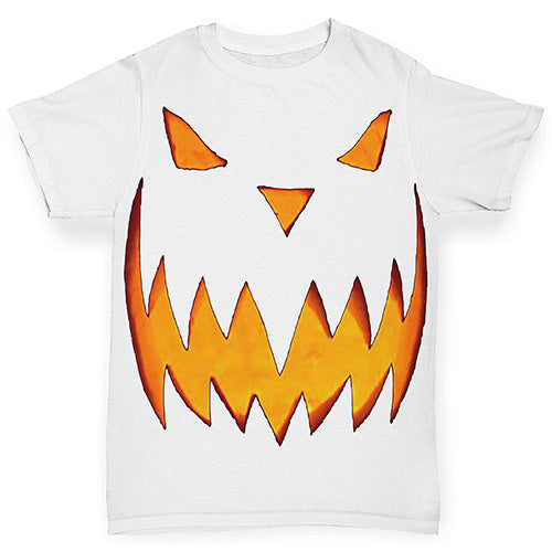 Spooky Halloween Pumpkin Smile Baby Toddler ALL-OVER PRINT Baby T-shirt