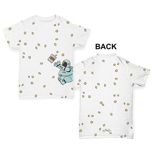 Fat Hungry Astronaut Baby Toddler ALL-OVER PRINT Baby T-shirt