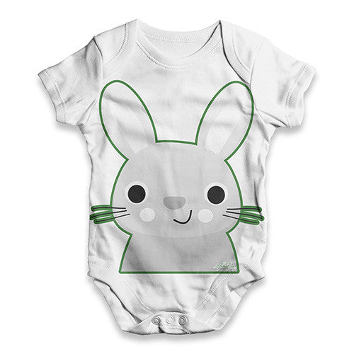 Bunny Rabbit Baby Unisex ALL-OVER PRINT Baby Grow Bodysuit