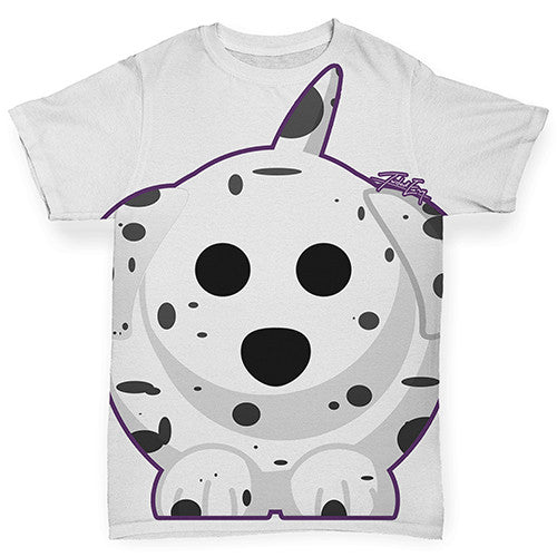 Dalmatian Dog Baby Toddler ALL-OVER PRINT Baby T-shirt