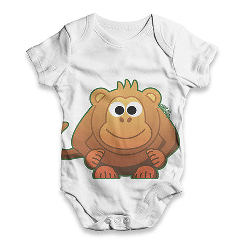 Fat Monkey Baby Unisex ALL-OVER PRINT Baby Grow Bodysuit