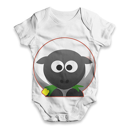 Cute Sheep Baby Unisex ALL-OVER PRINT Baby Grow Bodysuit