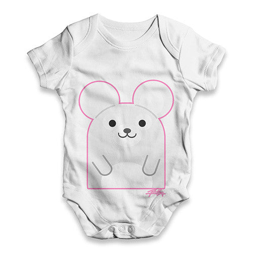 Cute Mouse Baby Unisex ALL-OVER PRINT Baby Grow Bodysuit