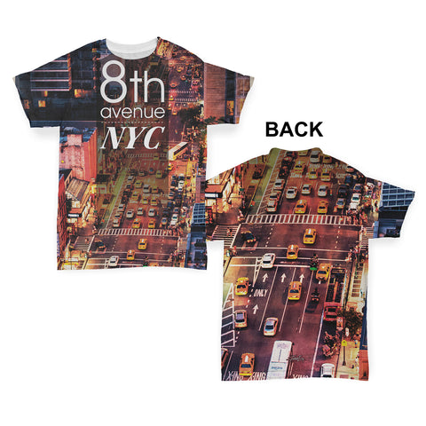 8th Avenue NYC New York Baby Toddler ALL-OVER PRINT Baby T-shirt