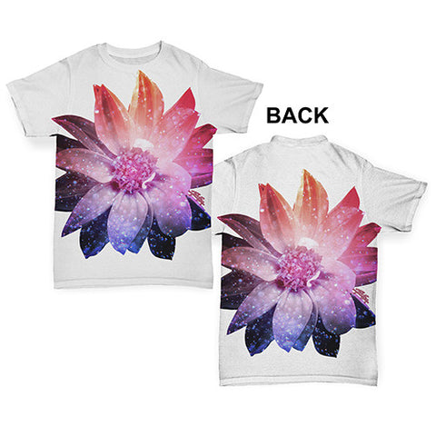 Cosmic Flower Baby Toddler ALL-OVER PRINT Baby T-shirt