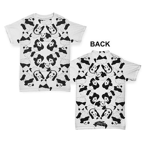 Family Of Panda's Baby Toddler ALL-OVER PRINT Baby T-shirt