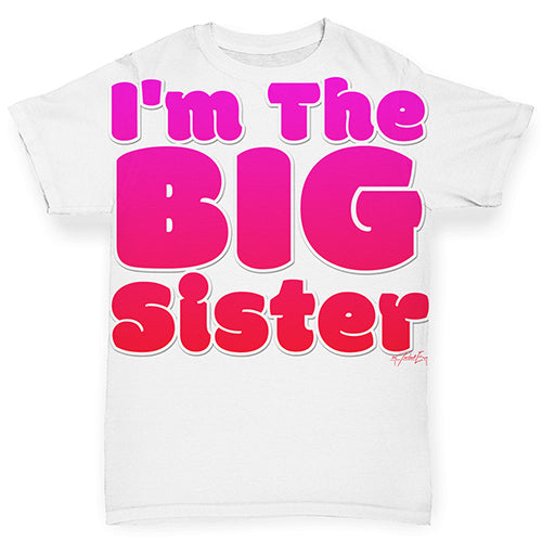 I'm The Big Sister Baby Toddler ALL-OVER PRINT Baby T-shirt