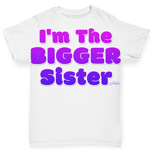 I'm The Bigger Brother Baby Toddler ALL-OVER PRINT Baby T-shirt