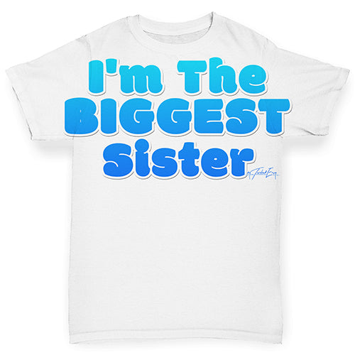I'm The Biggest Sister Baby Toddler ALL-OVER PRINT Baby T-shirt