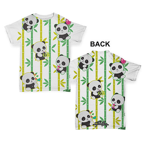 Bamboozled Baby Pandas Baby Toddler ALL-OVER PRINT Baby T-shirt