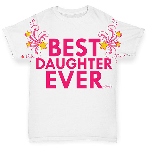 Best Daughter Ever Baby Toddler ALL-OVER PRINT Baby T-shirt