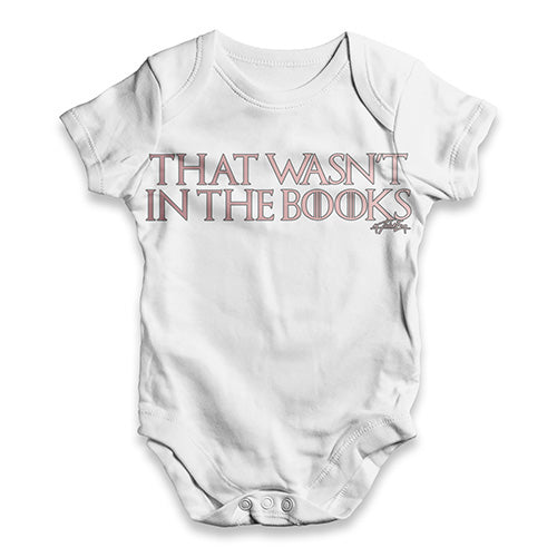 That Wasn?ç?©???¢?ç?¢ãÆ?????¬?ç?¢ãÆ?????¢t In The Book Baby Unisex ALL-OVER PRINT Baby Grow Bodysuit
