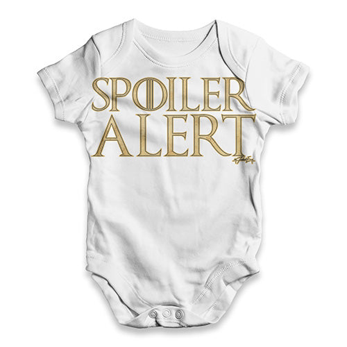 Spoiler Alert Baby Unisex ALL-OVER PRINT Baby Grow Bodysuit
