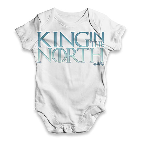 King In The North Baby Unisex ALL-OVER PRINT Baby Grow Bodysuit