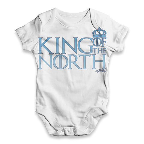 King Of The North Crown Baby Unisex ALL-OVER PRINT Baby Grow Bodysuit