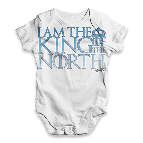 I Am King Of The North Baby Unisex ALL-OVER PRINT Baby Grow Bodysuit
