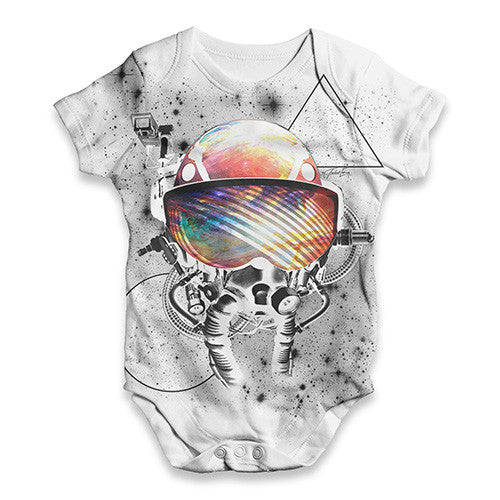 Cosmic Space Astronaut Pilot Baby Unisex ALL-OVER PRINT Baby Grow Bodysuit