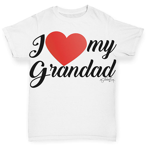 I Love My Grandad Baby Toddler ALL-OVER PRINT Baby T-shirt