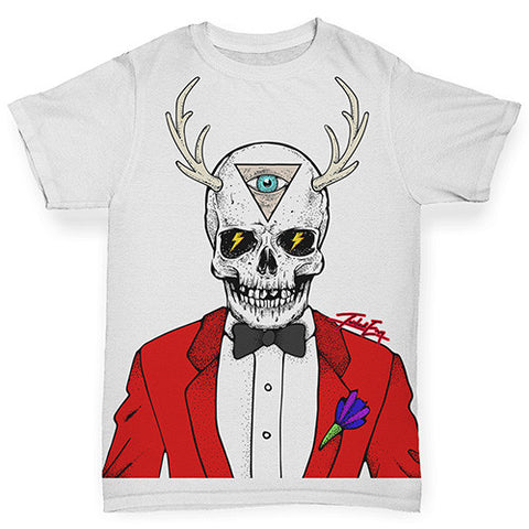 Illuminati Skull Man Baby Toddler ALL-OVER PRINT Baby T-shirt
