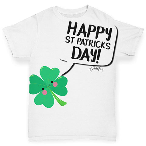 Cute Clover St Patrick's Day Baby Toddler ALL-OVER PRINT Baby T-shirt