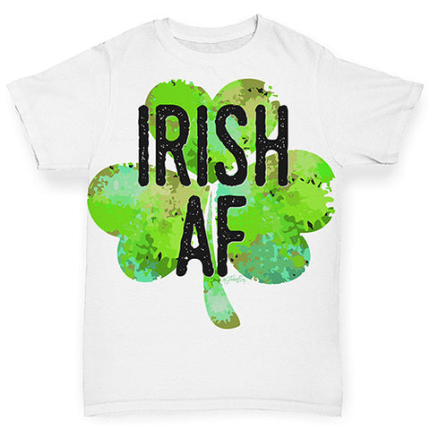 ALL-OVER PRINT Baby T-shirt Irish AF Baby Toddler ALL-OVER PRINT Baby T-shirt 18-24 Months White