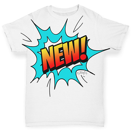 New! Pop Art Baby Toddler ALL-OVER PRINT Baby T-shirt