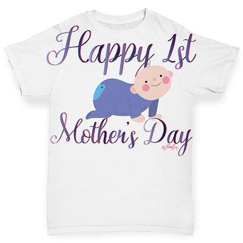Happy 1st Mother's Day Baby Baby Toddler ALL-OVER PRINT Baby T-shirt