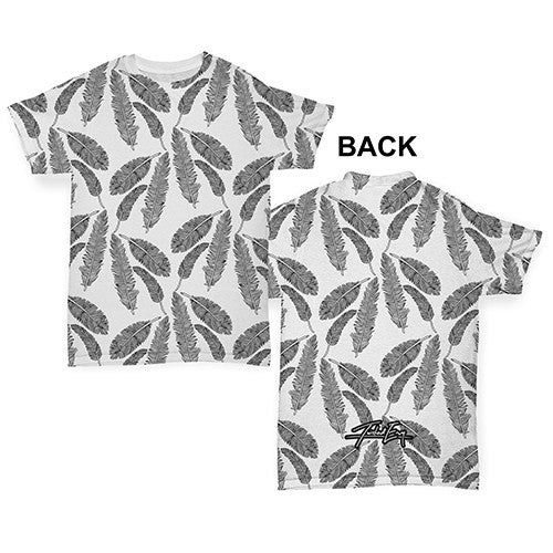 f343bf990 Feathers Falling Baby Toddler ALL-OVER PRINT Baby T-shirt – Twisted Envy