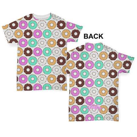 Homemade Doughnuts Baby Toddler ALL-OVER PRINT Baby T-shirt