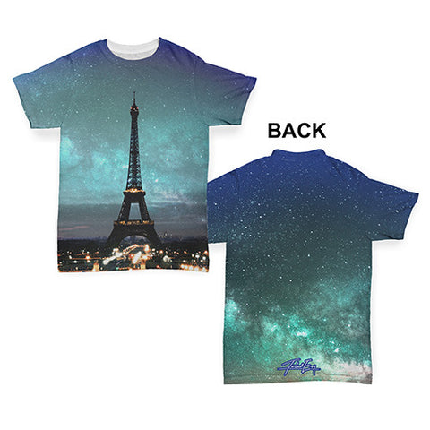 Eiffel Tower Paris Baby Toddler ALL-OVER PRINT Baby T-shirt