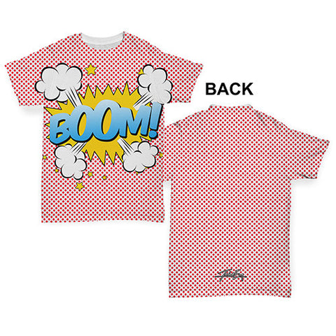 Boom! Comic Book Baby Toddler ALL-OVER PRINT Baby T-shirt