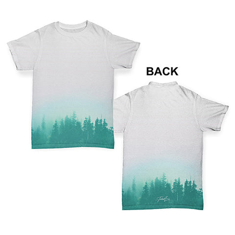 Misty Forest Landscape Baby Toddler ALL-OVER PRINT Baby T-shirt