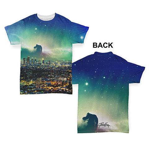 Los Angeles Cosmic Landscape Baby Toddler ALL-OVER PRINT Baby T-shirt