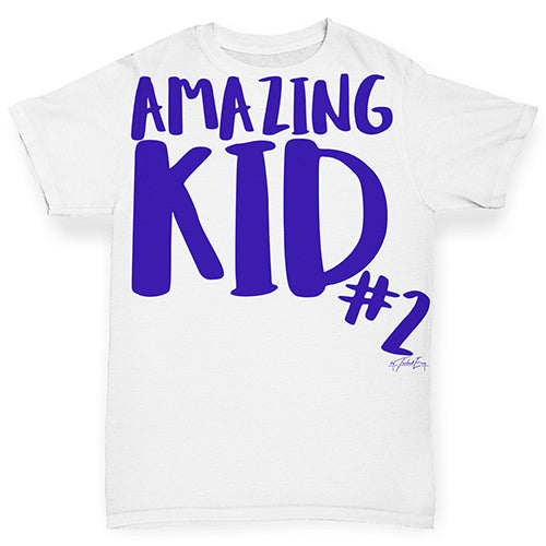 Amazing Kid Number 2 Baby Toddler ALL-OVER PRINT Baby T-shirt