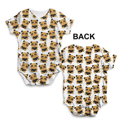 Teddy Love Baby Unisex ALL-OVER PRINT Baby Grow Bodysuit